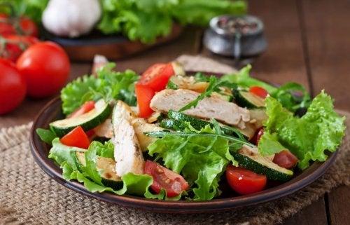 Deliciosa receta de ensalada de pollo
