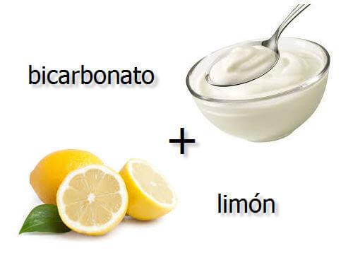 remedio blanquear bicarbonato y limon