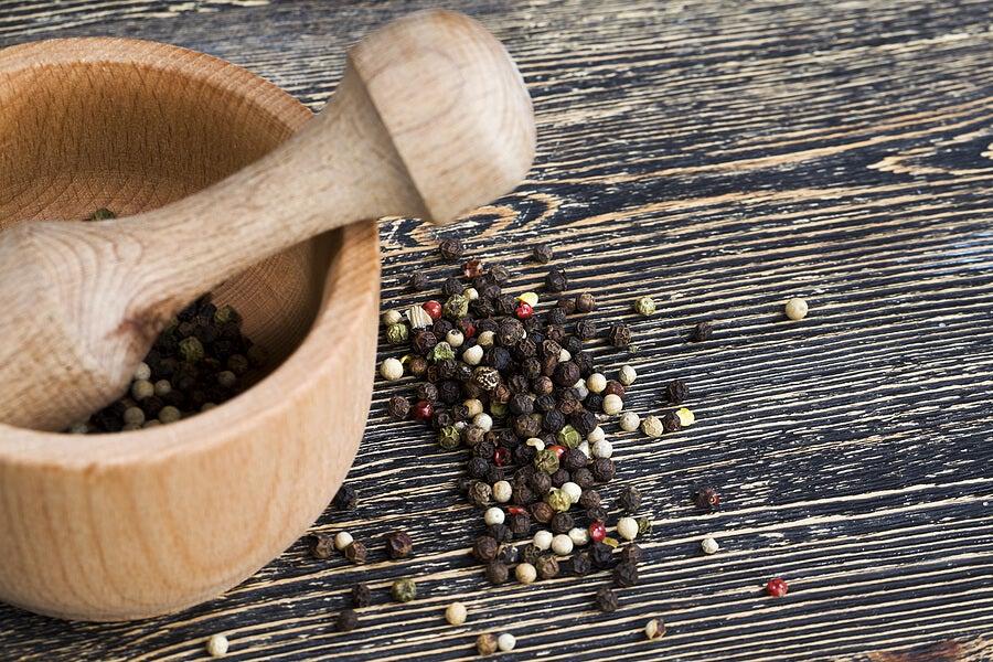 La pimienta es una de las especias que protegen tu cuerpo.