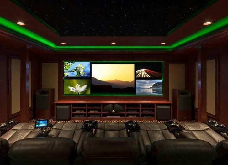 Sala de videojuegos.