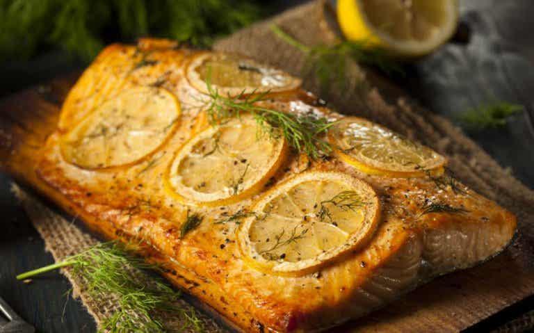 Receta de salmón con salsa de limón