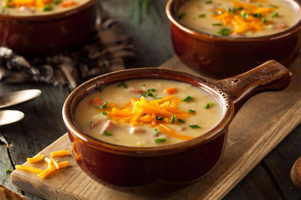 Sopa dieta blanda