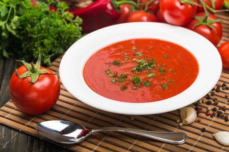 Recetas de sopa de tomate casera