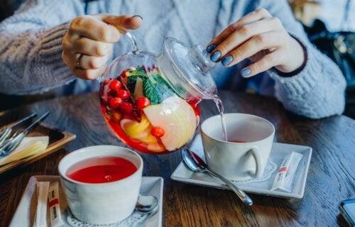 ¿Son efectivos los tés para adelgazar?