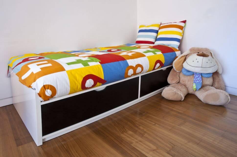 Usar una cama modular.