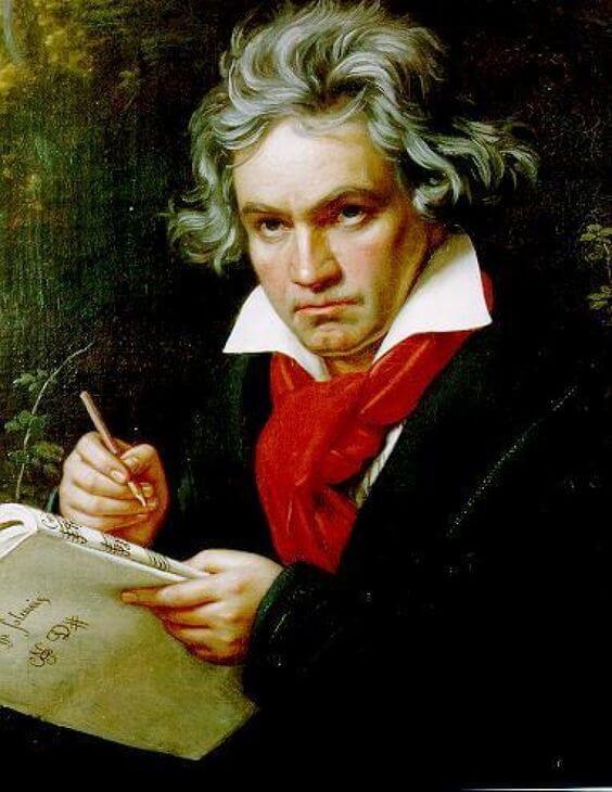 Cartas de amor de Beethoven.