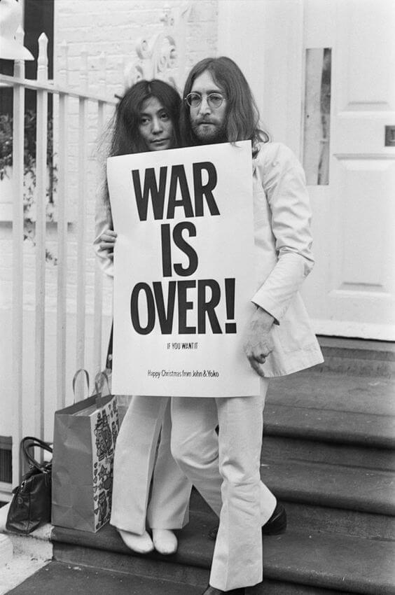 Cartas de amor de Yoko Ono.