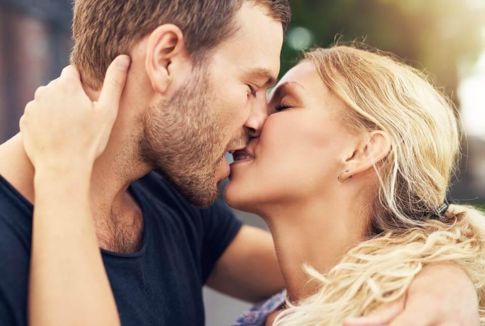 Cómo besar a un hombre.