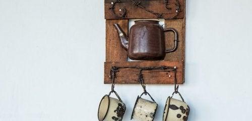 9 ideas para decorar la cocina con materiales reciclados