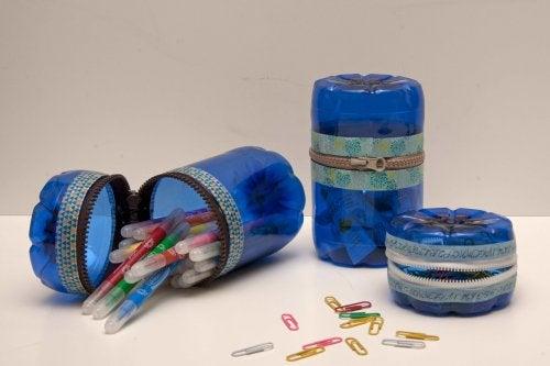 Los envases de plástico pueden tener múltiples utilidades.