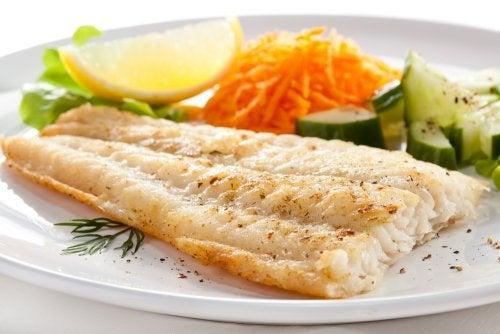 como hacer pescado para dieta