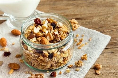 3 recetas de granola casera con frutos secos