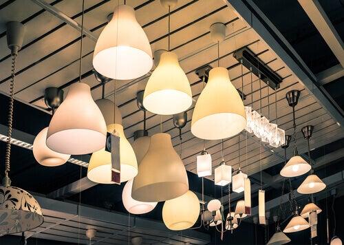 errores de iluminación en el hogar