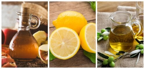 Limón, aceite de oliva y vinagre de manzana: un remedio ideal para los cálculos renales