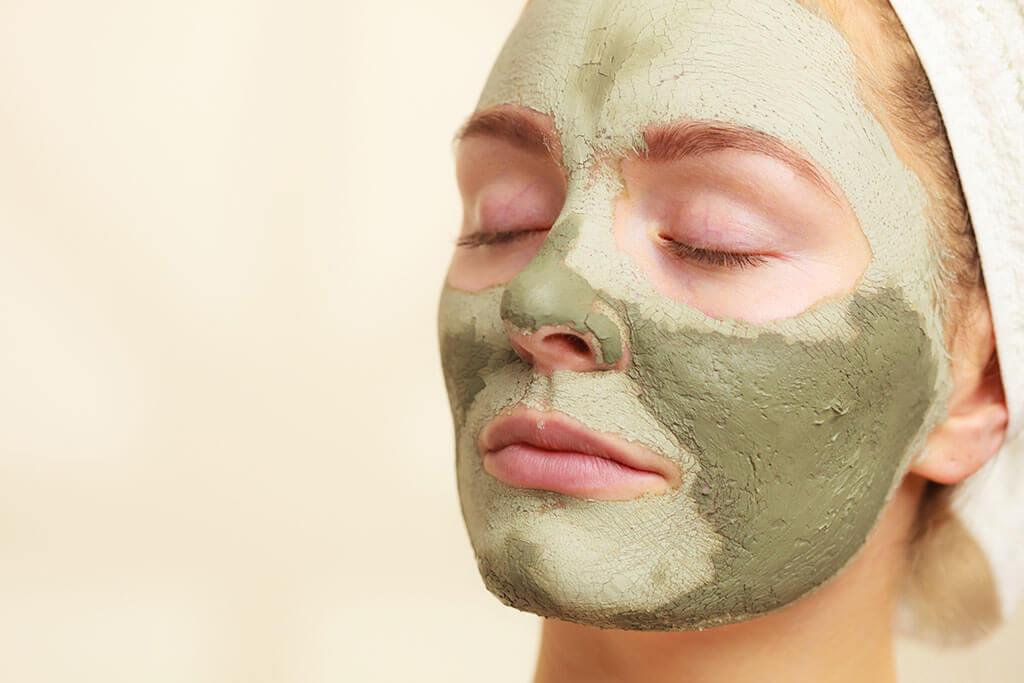 Mascarilla de arcilla para la salud del rostro