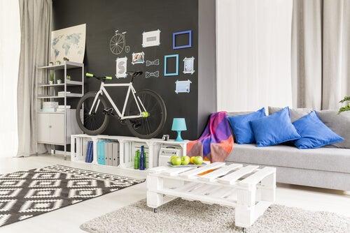 ¿Cómo hacer muebles con palets reciclados?