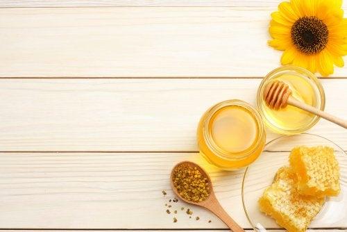 miel para rejuvenecer la piel