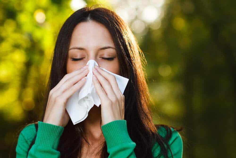 Quercetina para la alergia.