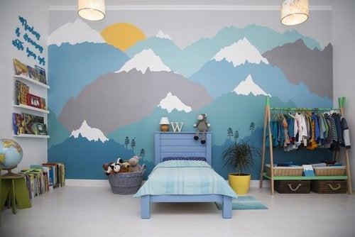 Claves para hacer un mural infantil bonito y original