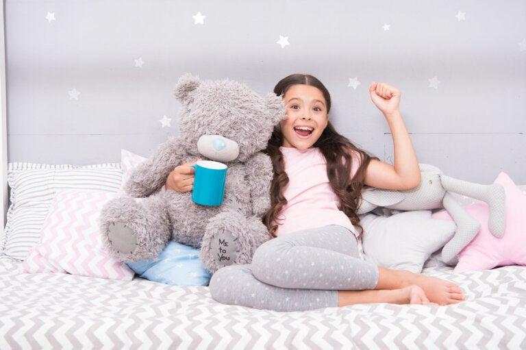 ¿Por qué algunos niños piden agua antes de ir a dormir?