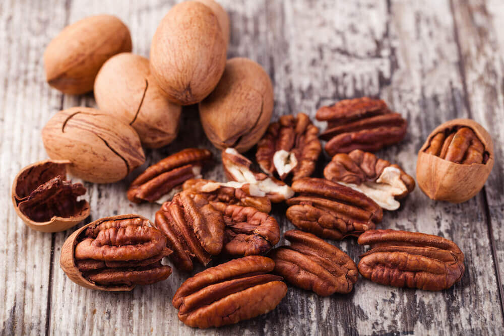 frutos secos: nueces