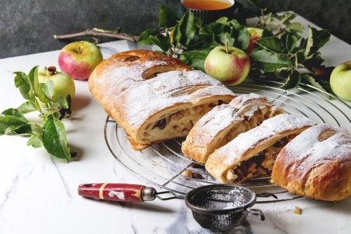 Recetas caseras de tarta de manzana.