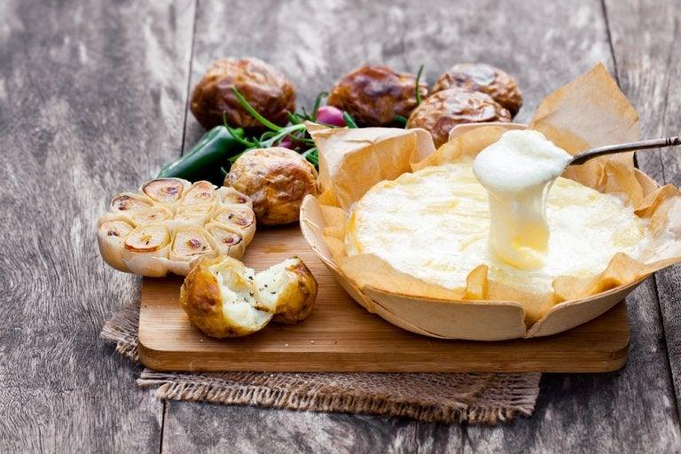 Receta de patatas gratinadas con queso