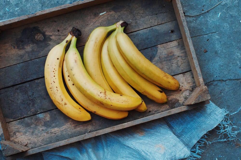 Plátano y banana.