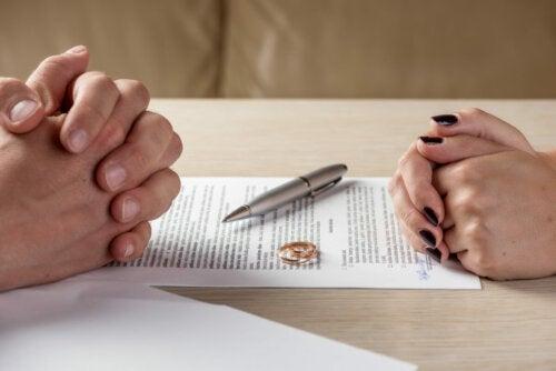 Poner fin a un matrimonio