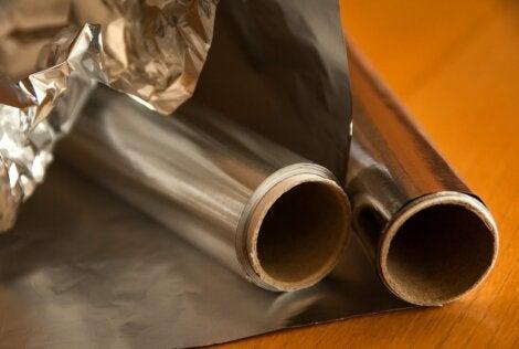 7 cosas que puedes hacer con papel aluminio.