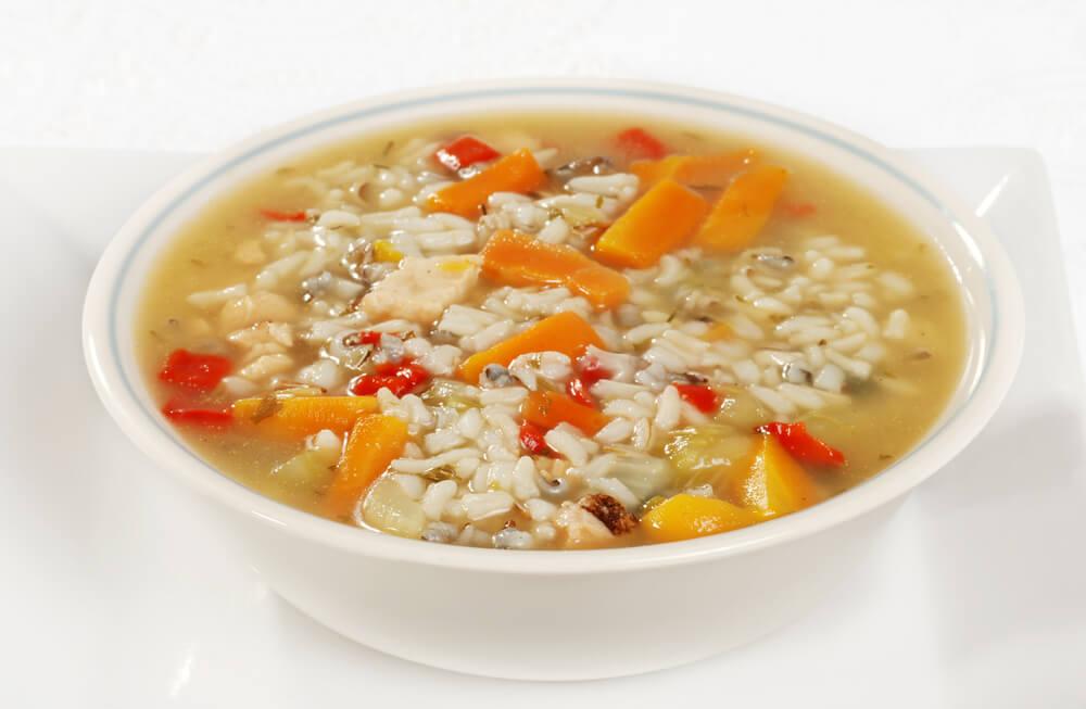 3 sopas para recuperarte de una diarrea