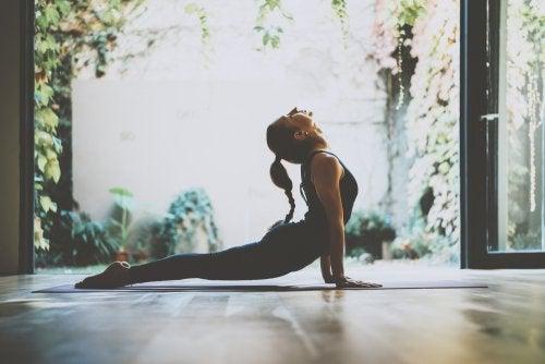 Prácticas del yoga.