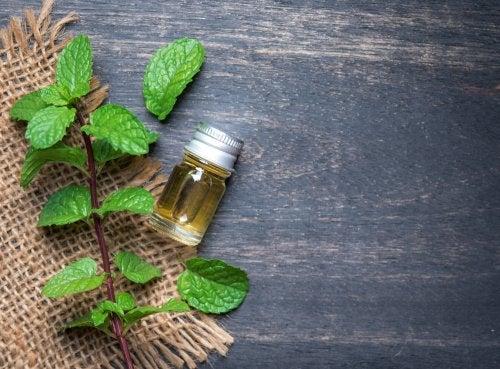 aceite esencial de menta para las bajadas de tensión