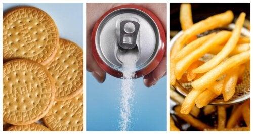 4 alimentos que debes evitar en una dieta para adelgazar