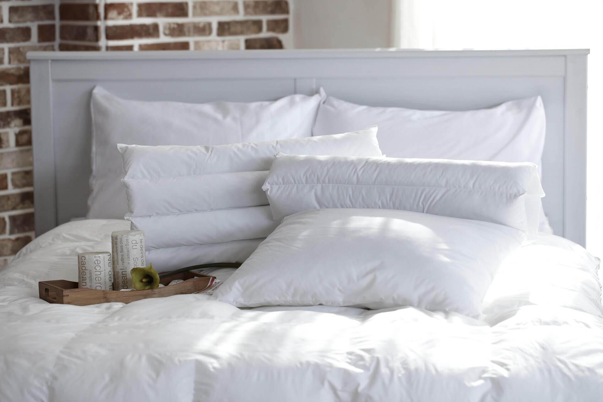 Debemos cambiar nuestras almohadas cada dos o tres años.