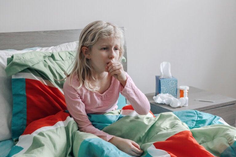 ¿Cómo ayuda el suero fisiológico contra la gripe en niños?