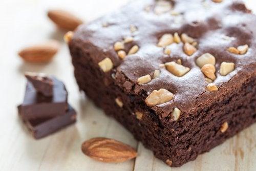 2 recetas para hacer un brownie sin gluten