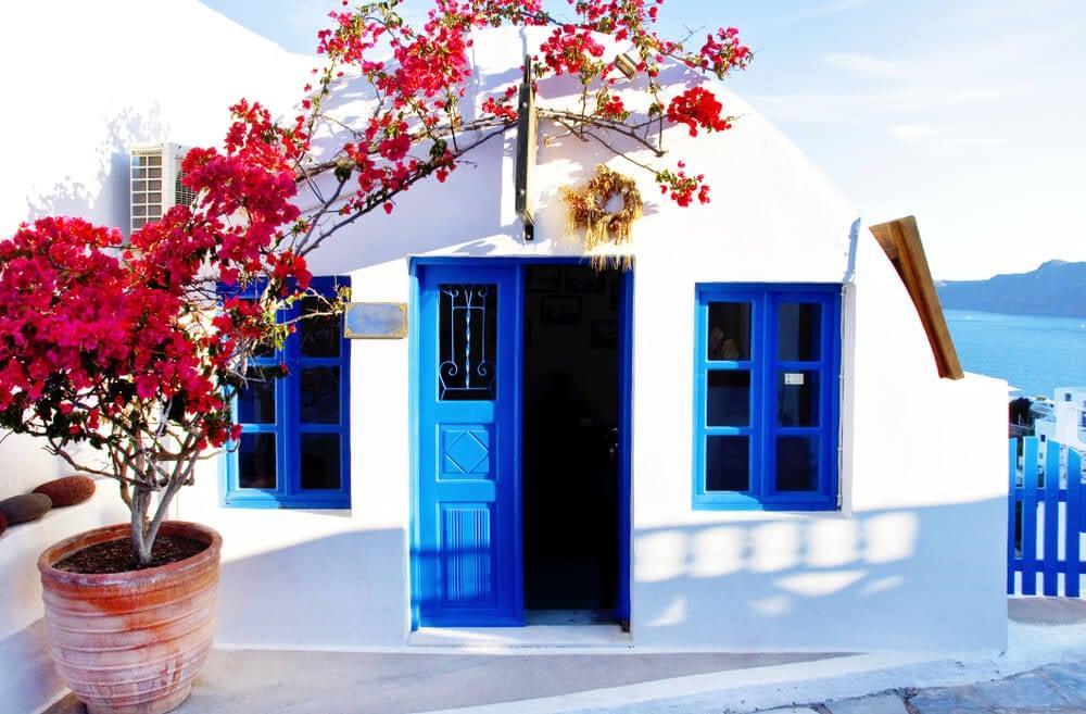 Casa en estilo griego