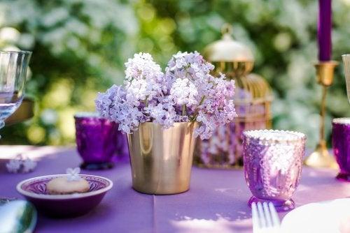 Ideas para centros de mesa: flores