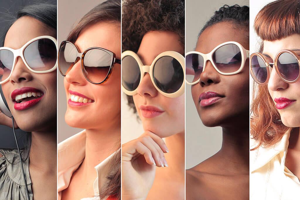 ¿Cómo elegir gafas de sol según el tipo de cara?