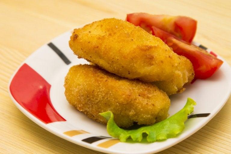 Receta casera de croquetas de atún con queso
