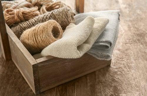 Dale un toque rústico a tu casa usando solo una cuerda