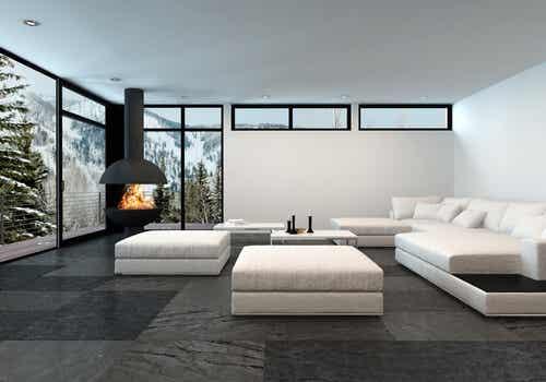 ¿Cómo decorar una sala minimalista y confortable?