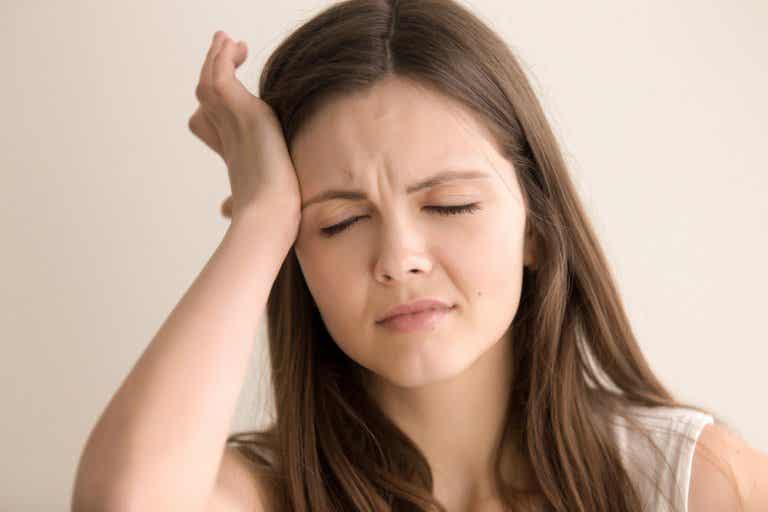 Antifaz casero frío-calor para el dolor de cabeza