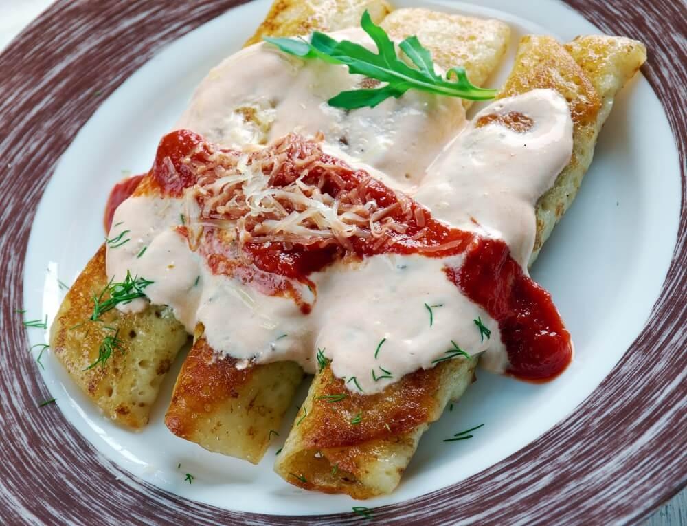 Receta de enchiladas con calabaza muy fácil de preparar