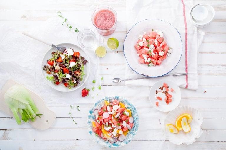 Recetas saludables en diez minutos