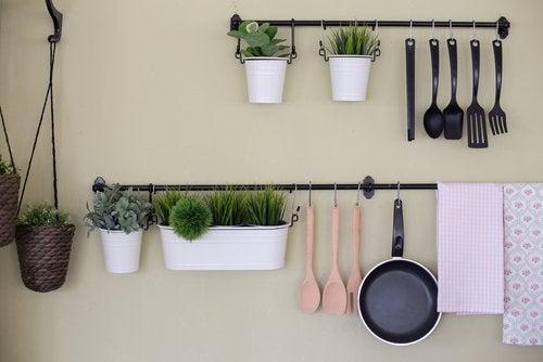 4 maneras de hacer un estante de cocina