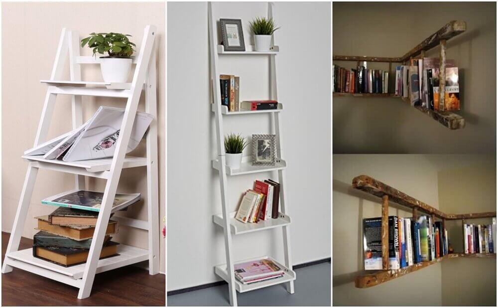 7 maneras de hacer tus propias estanter as para libros y for Estanterias para libros