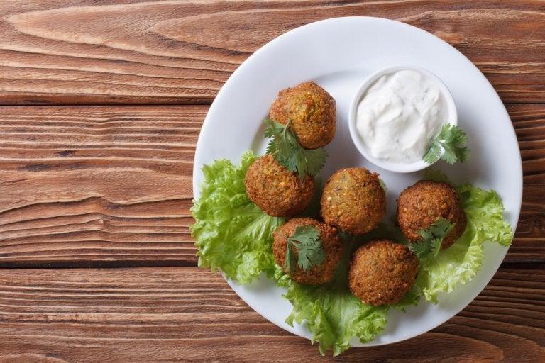 Bolitas de garbanzo: una receta vegana sin gluten