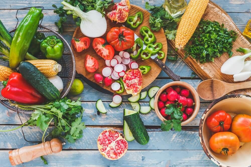 Frutas y verduras par ayudar a eliminar los cálculos renales